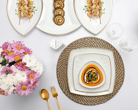 سرویس غذا خوری پاریس طرح سیلویا